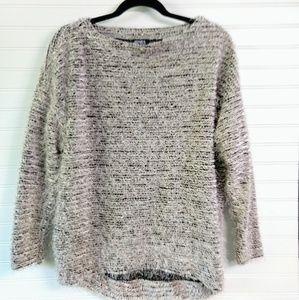 JONES NEW YORK | Black & White Boucle Sweater Sz S